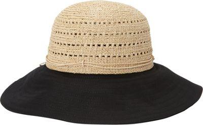 Helen Kaminski Kessy 10 Hat One Size - Natural/Black - Helen Kaminski Hats/Gloves/Scarves