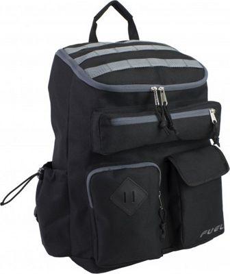 Fuel Top Loader Cargo Backpack Black - Fuel Everyday Backpacks