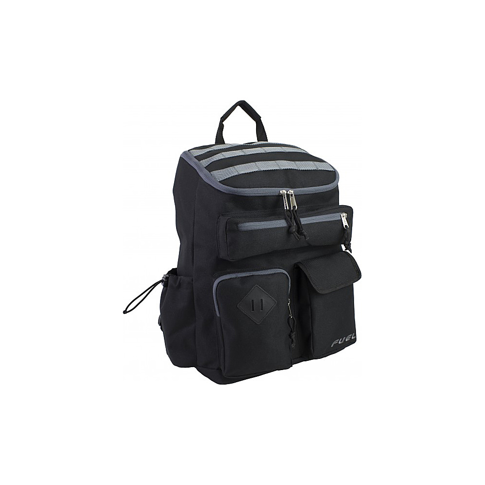 Fuel Top Loader Cargo Backpack Black Fuel Everyday Backpacks