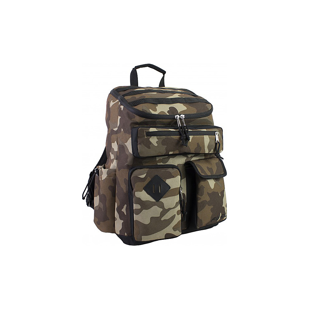 Fuel Top Loader Cargo Backpack Army Camo Fuel Everyday Backpacks