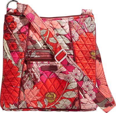Vera Bradley Hipster Crossbody- Retired Prints Bohemian Blooms - Vera Bradley Fabric Handbags
