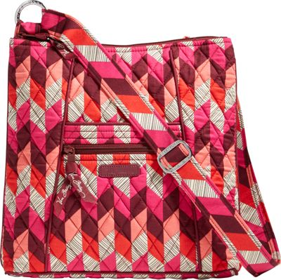 Vera Bradley Hipster Crossbody- Retired Prints Bohemian Chevron - Vera Bradley Fabric Handbags