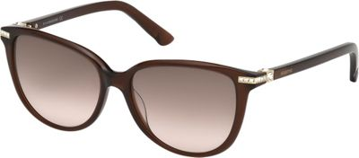 Swarovski Eyewear Edith Sunglasses Shiny Transparent - Swarovski Eyewear Sunglasses