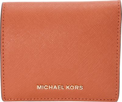 MICHAEL Michael Kors Jet Set Travel Carryall Card Case Orange - MICHAEL Michael Kors Women's Wallets 10509271