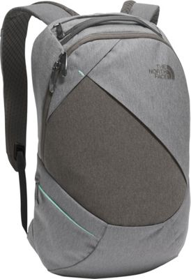 The North Face Womens Electra Backpack TNF Medium Grey Heather/Ice Green - The North Face Everyday Backpacks