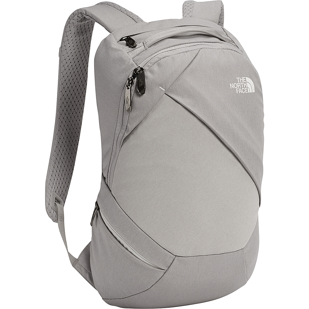 The North Face Womens Electra Backpack Metallic Silver Dark Heather - The North Face Everyday Backpacks - Backpacks, Everyday Backpacks