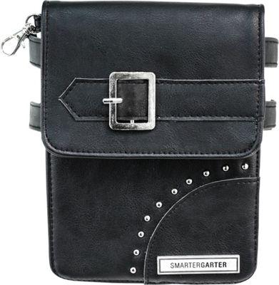 SmarterGarter Odessa Hands-Free Purse 3.0 Black - Medium - SmarterGarter Waist Packs