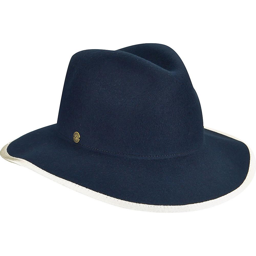 Karen Kane Hats Litefelt Fedora Hat Navy M L Karen Kane Hats Hats Gloves Scarves