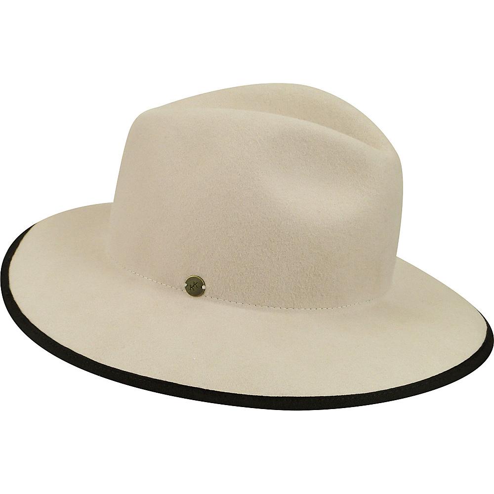 Karen Kane Hats Litefelt Fedora Hat Sand M L Karen Kane Hats Hats Gloves Scarves