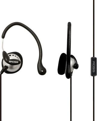 Koss Ultra Lightweight Sport Ear-Clip Headphones Black - Koss Headphones & Speakers