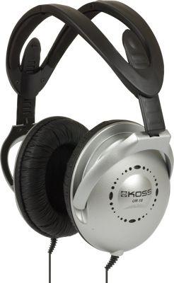Koss Folding Home Theater Stereo Headphones Silver/Black - Koss Headphones & Speakers