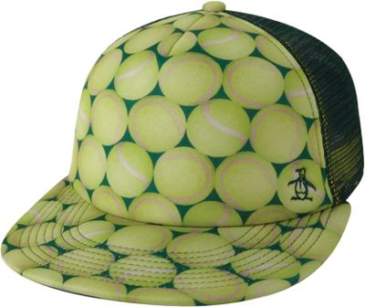 Original Penguin Tennis Balls Baseball Cap One Size - Tennis Yellow - Original Penguin Hats/Gloves/Scarves