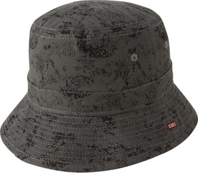 A Kurtz Pax Camo Bucket Hat M - Charcoal - A Kurtz Hats/Gloves/Scarves