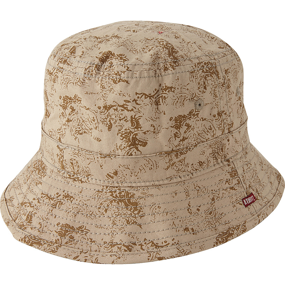 A Kurtz Pax Camo Bucket Hat Khaki L A Kurtz Hats Gloves Scarves