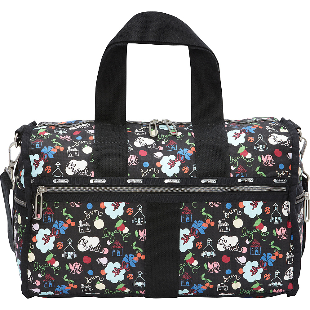 LeSportsac Weekender Duffel School s Out LeSportsac Travel Duffels