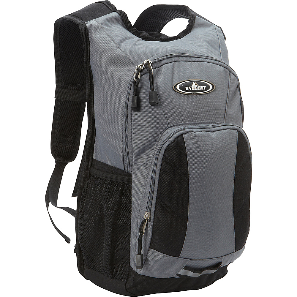 Everest Mini Hiking Pack Gray/Black - Everest Day Hiking Backpacks - Outdoor, Day Hiking Backpacks