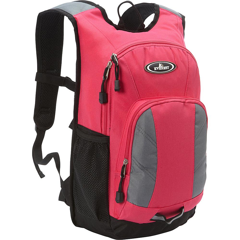 Everest Mini Hiking Pack Hot Pink/Gray - Everest Everyday Backpacks - Backpacks, Everyday Backpacks