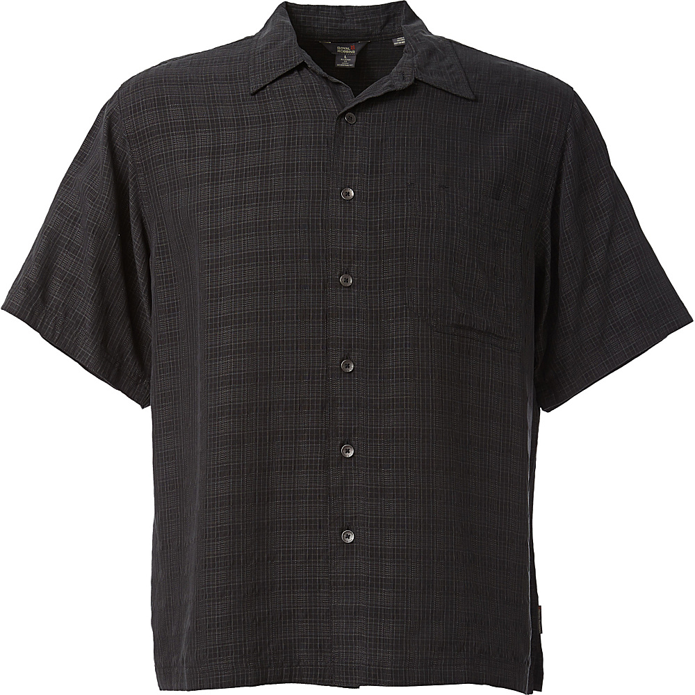 Royal Robbins San Juan Short Sleeve M - Obsidian - Royal Robbins Mens Apparel - Apparel & Footwear, Men's Apparel