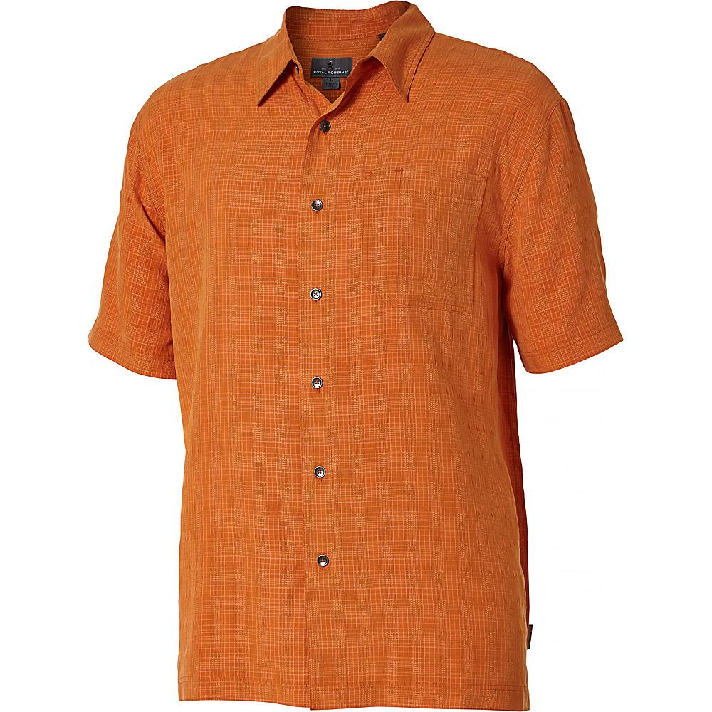 Royal Robbins San Juan Short Sleeve S - Marmalade - Royal Robbins Mens Apparel - Apparel & Footwear, Men's Apparel