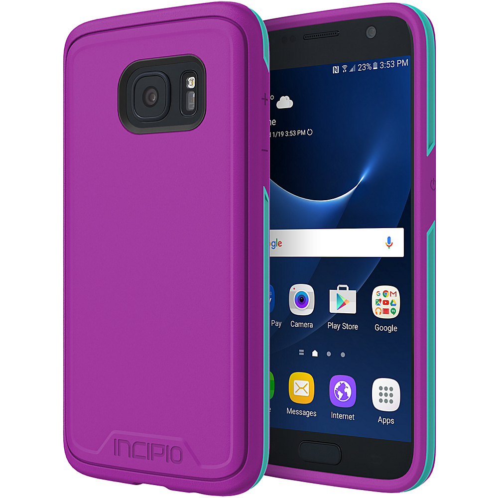 Incipio Performance Series Level 3 for Samsung Galaxy S7 Purple/Teal - Incipio Electronic Cases - Technology, Electronic Cases