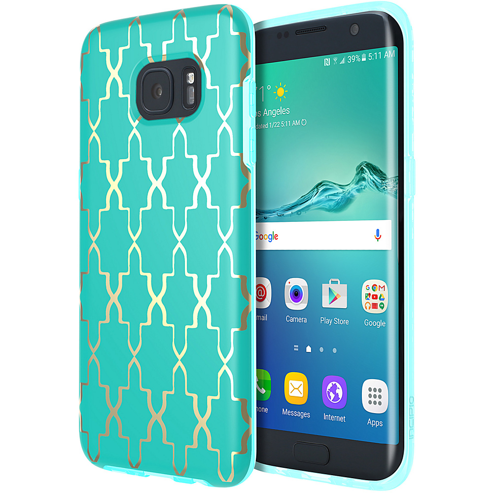 Incipio Design Series Maynard for Samsung Galaxy S7 Edge Gold - Incipio Electronic Cases - Technology, Electronic Cases