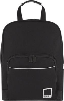 Pantone X Redland Medium Backpack Black Phantom - Pantone Business & Laptop Backpacks