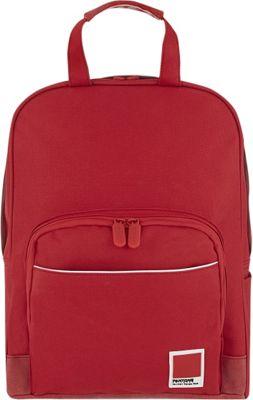 Pantone X Redland Medium Backpack Red Tango - Pantone Business & Laptop Backpacks