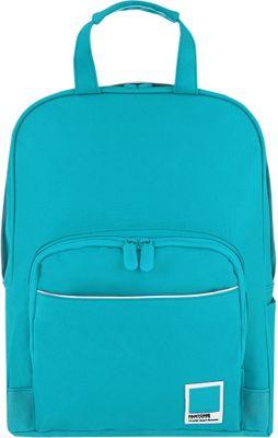 Pantone X Redland Medium Backpack Turquoise Capri Breeze - Pantone Business & Laptop Backpacks