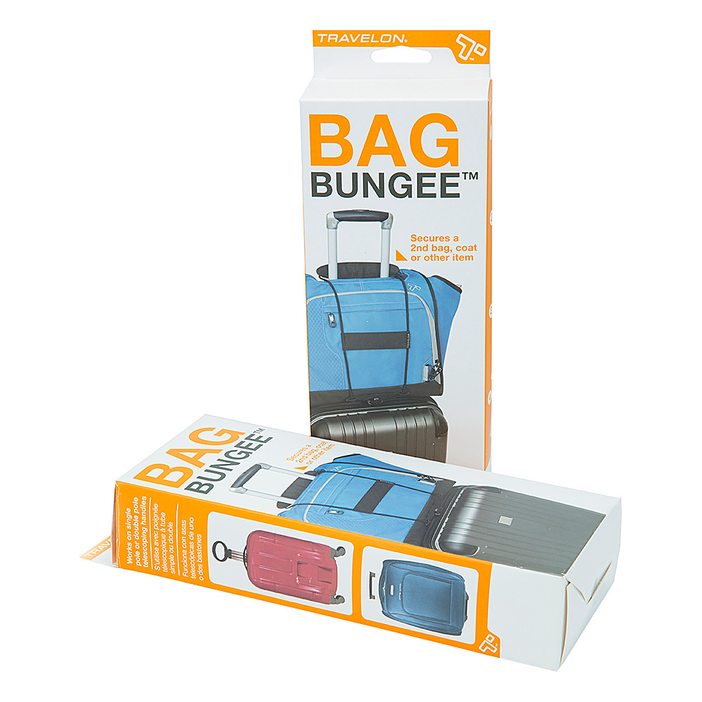 Travelon Bag Bungee Two Pack Black - Travelon Luggage Accessories - Travel Accessories, Luggage Accessories