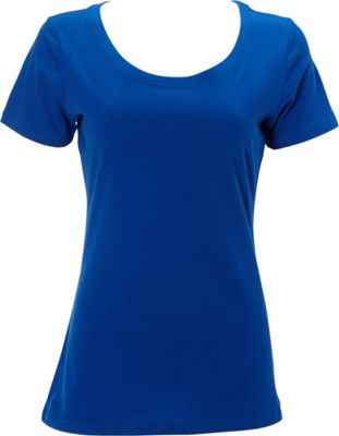 Simplex Apparel The Womens Scoop Tee XS - Royal - Simplex Apparel Women's Apparel