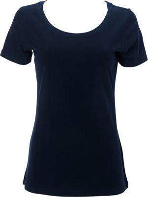 Simplex Apparel The Womens Scoop Tee 2XL - Navy - Simplex Apparel Women's Apparel