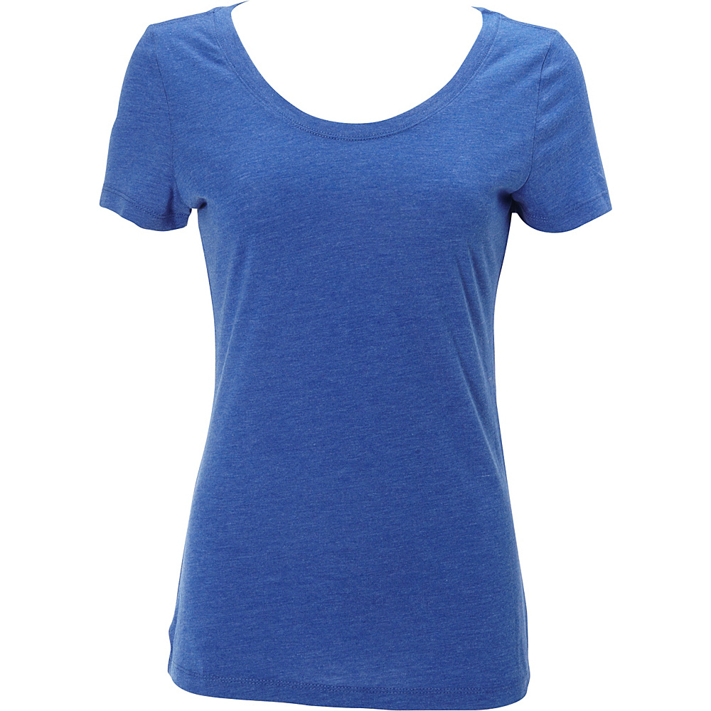 Simplex Apparel Triblend Womens Scoop Tee XL - Royal - Simplex Apparel Womens Apparel - Apparel & Footwear, Women's Apparel