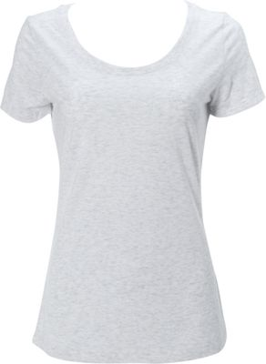 Simplex Apparel Triblend Womens Scoop Tee XS - Speckled White - Simplex Apparel Women's Apparel