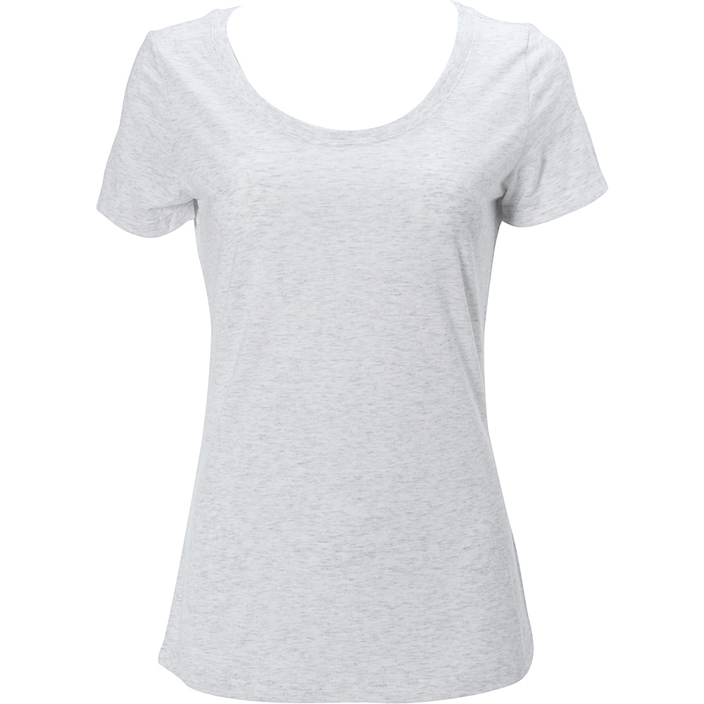 Simplex Apparel Triblend Womens Scoop Tee S - Speckled White - Simplex Apparel Womens Apparel - Apparel & Footwear, Women's Apparel