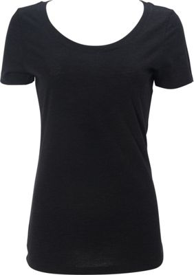 Simplex Apparel Triblend Womens Scoop Tee XL - Vintage Black - Simplex Apparel Women's Apparel