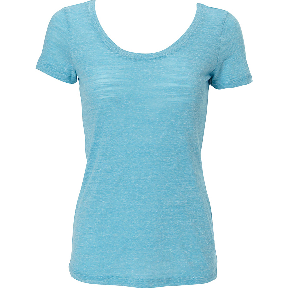 Simplex Apparel Triblend Slub Womens Scoop Tee XS - Aqua - Simplex Apparel Womens Apparel - Apparel & Footwear, Women's Apparel