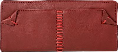 Hidesign Stitch Bifold Leather wallet Red - Hidesign Women's Wallets