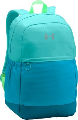 Under Armour Girls Favorite Backpack Blue Infinity/Blue Shift/Metallic Silver - Under Armour Everyday Backpacks