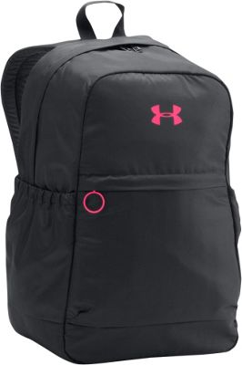 Under Armour Girls Favorite Backpack Black/Harmony Red - Under Armour Everyday Backpacks