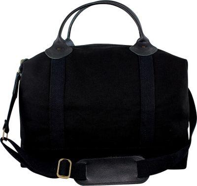 CB Station Weekender Bag Solid Black - CB Station Travel Duffels