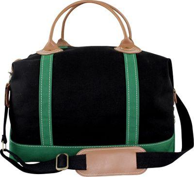 CB Station Weekender Bag Black/Emerald - CB Station Travel Duffels
