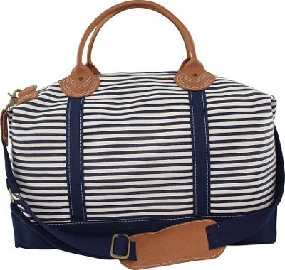 CB Station Weekender Bag Navy Stripes - CB Station Travel Duffels