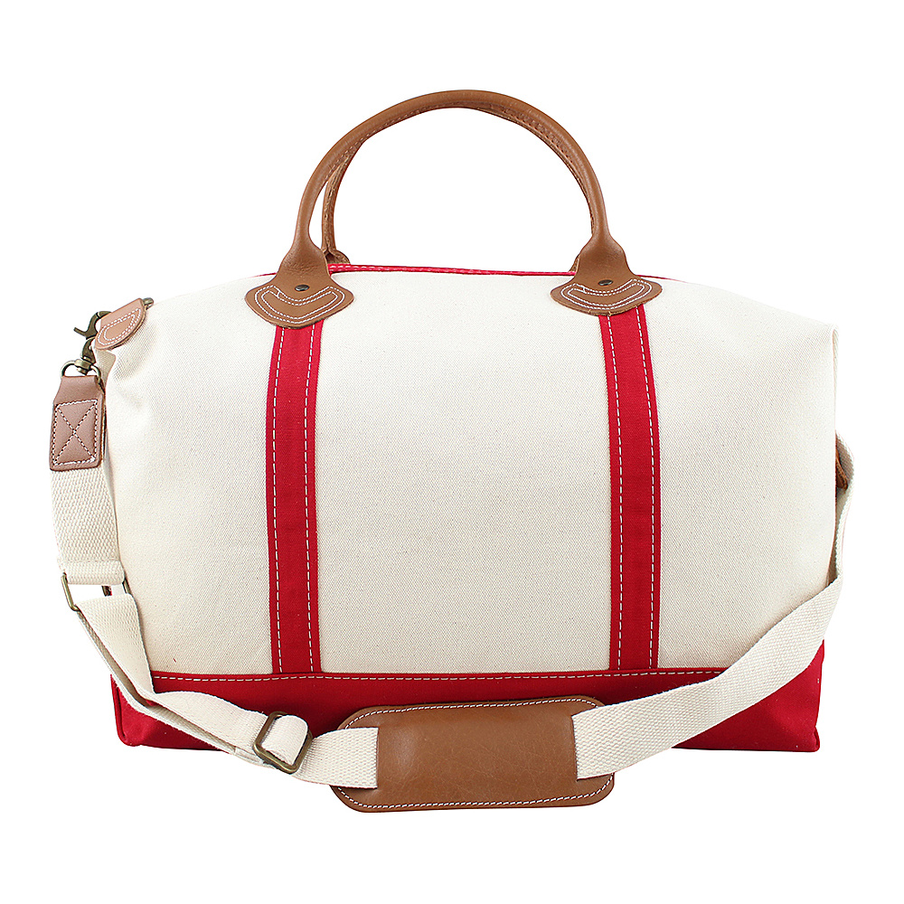 CB Station Weekender Bag Red CB Station Travel Duffels