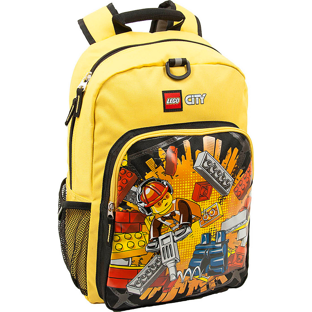 LEGO City Deconstruction Boom! Backpack Yellow LEGO Everyday Backpacks