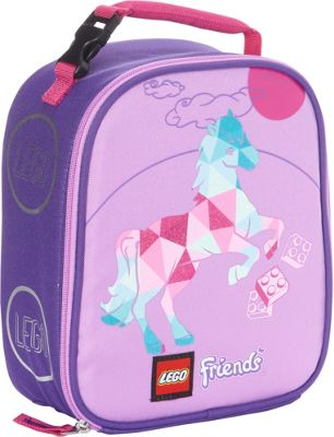 LEGO LEGO Friends Geo Pony Vertical Lunch Box Purple - LEGO Travel Coolers