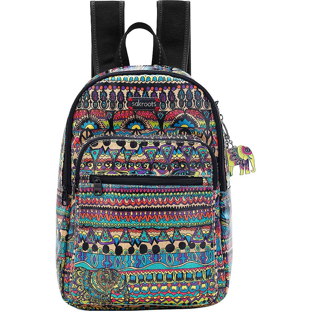 Sakroots Artist Circle Mini Backpack Radiant One World - Sakroots Fabric Handbags
