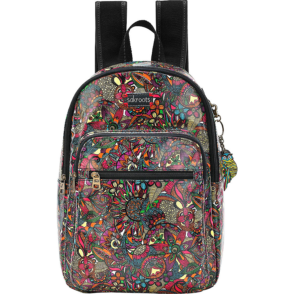 Sakroots Artist Circle Mini Backpack Rainbow Spirit Desert - Sakroots Fabric Handbags