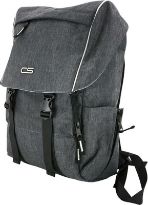 Carbon Sesto Vortex Laptop Backpack Space Grey - Carbon Sesto Business & Laptop Backpacks