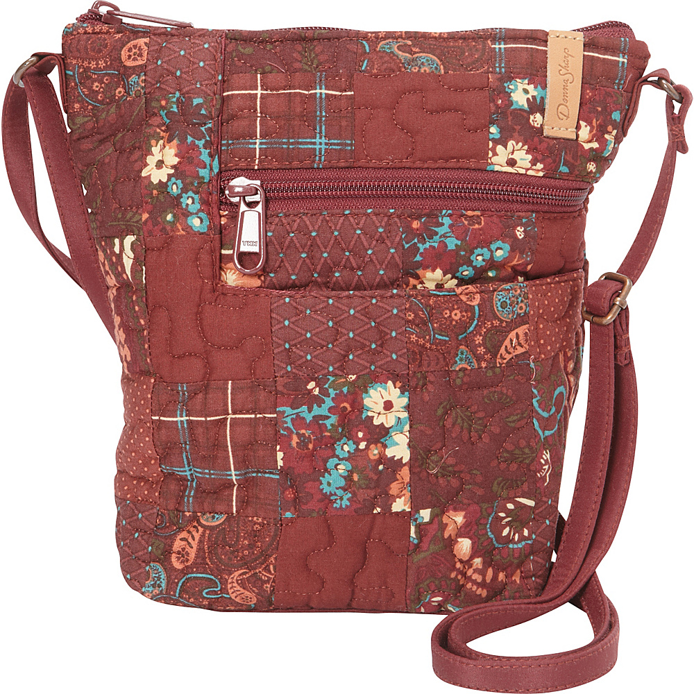 Donna Sharp Penny Crossbody Autumn Donna Sharp Fabric Handbags