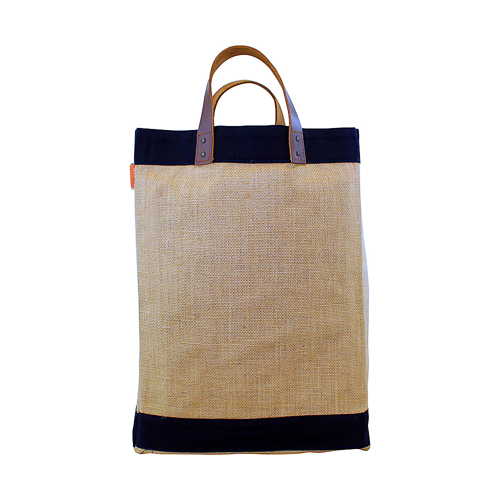 CB Station Jute Market Bag Navy CB Station All Purpose Totes